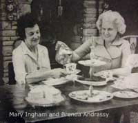 Mary Ingham and Brenda Andrassy