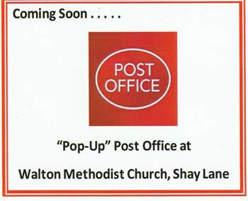 Pop-Up Post Office coming to Walton.