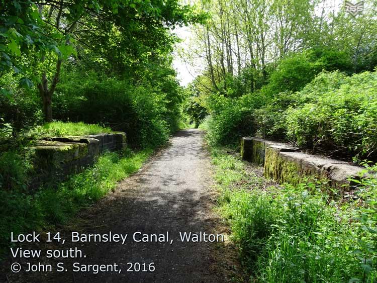 Barnsley Canal Cherry Tree Soap House To Walton Hall