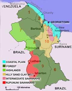 Charles Waterton  Guyana Brief History